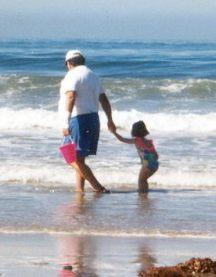 My Grandpa and I at Big Sur
