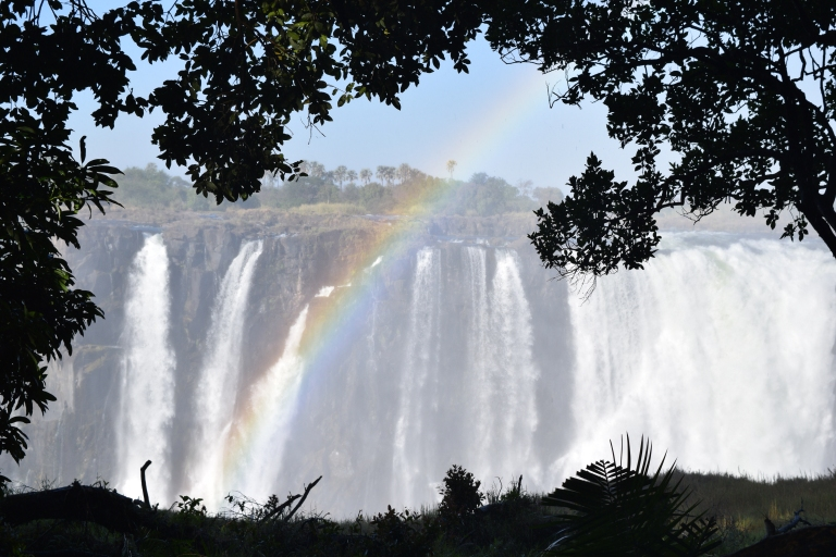 Victoria Falls, Looking at Zambia side from Zimbabwe