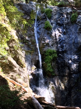 Waterfall by Big Sur