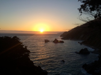 Highway 1, View from McWay Falls