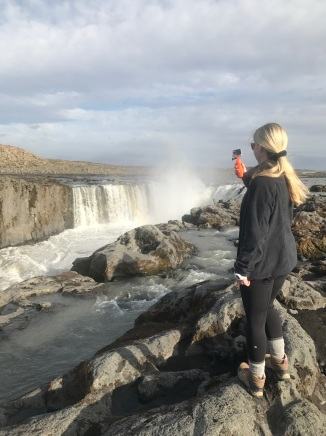 Selfoss with GoPro