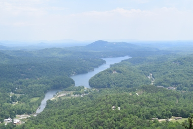 View From Top of Chimney Rock