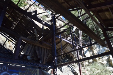 Big Horn Mine Building Remains