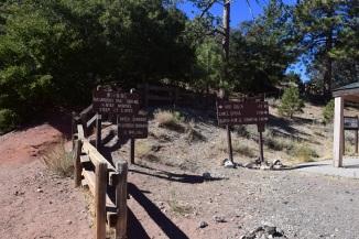 Trail Head to Big Horn Mine
