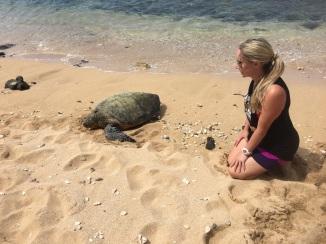 Turtle Friend at Mama's Fish House