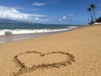 Beach in Front of our Hotel, Royal Kahana Maui
