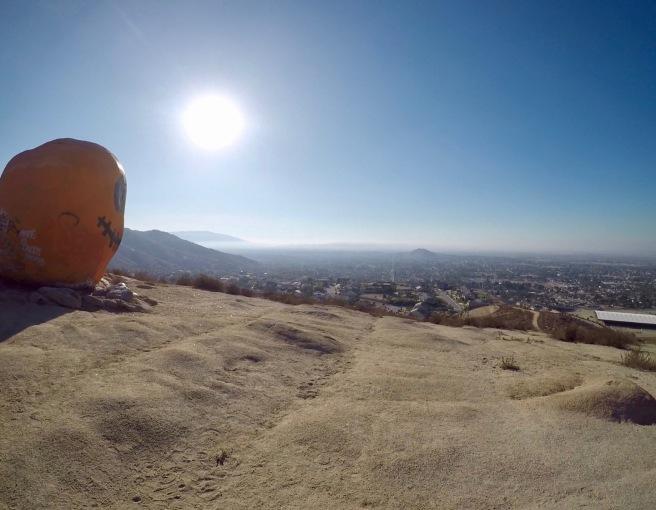 View from Pumpkin Rock