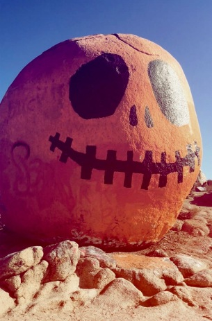 Pumpkin Rock, Norco California