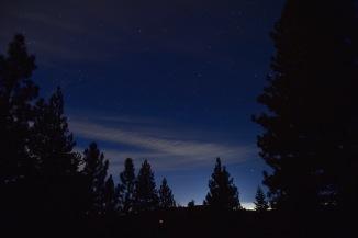 Night Sky - White Balance set at Incandescent