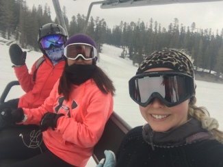 On the Lift at Mammoth Mountain