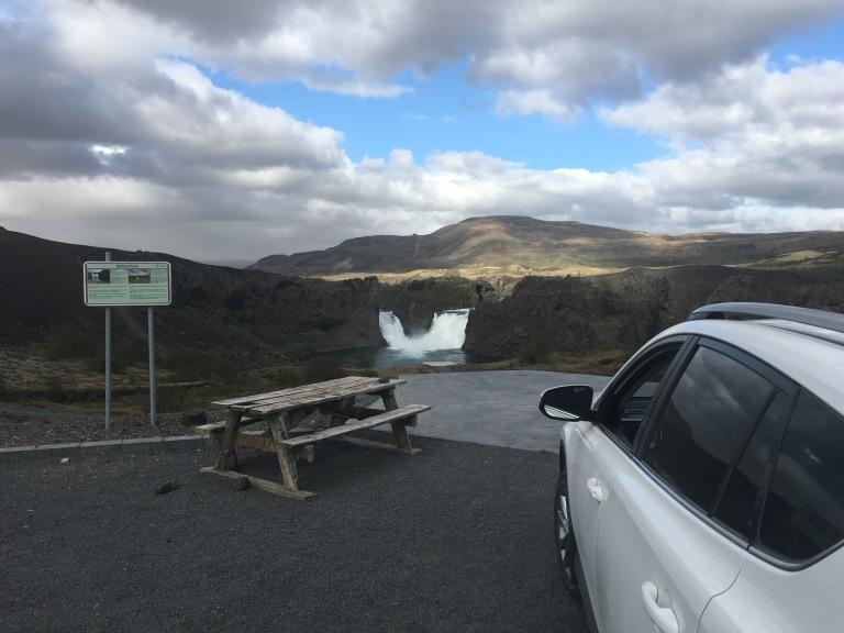 Hjalparfoss Falls